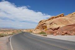 Vallei van Brand Nevada United States van Amerika Royalty-vrije Stock Fotografie