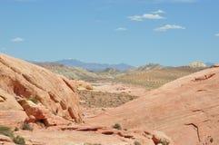 Vallei van Brand Nevada United States van Amerika Stock Foto