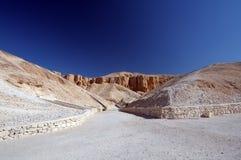 Vallei van de Koningen Egypte Royalty-vrije Stock Fotografie