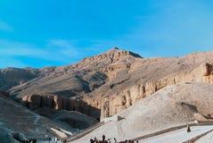 Vallei van de Koningen, Egypte Stock Foto