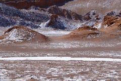 Vallei van de Maan - Valle DE La Luna, Atacama-Woestijn, Chili royalty-vrije stock fotografie