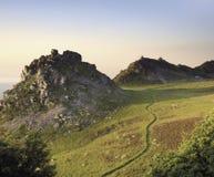 Vallei van de rotsen Stock Afbeeldingen
