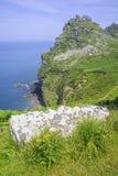 Vallei van de rotsen Royalty-vrije Stock Foto