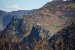 Vallei van de rotsen Stock Foto's