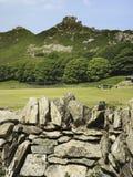 Vallei van de rotsen Stock Afbeelding
