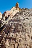 Vallei van de rotsvorming van de Brand royalty-vrije stock foto