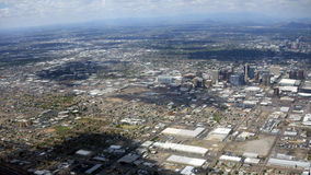 Vallei van de Zon, Phoenix, AZ Stock Foto's