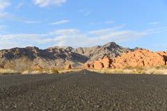 Vallei van het Park van de Brandstaat Stock Afbeelding