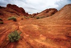 Vallei van het Park van de Staat van de Brand Royalty-vrije Stock Fotografie