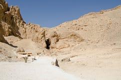 Vallei van het Queens, Egypte Stock Foto