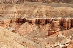 Vallei van Kastelen in Sharyn Canyon Stock Foto's