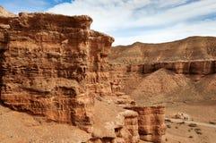 Vallei van Kastelen in Sharyn Canyon Royalty-vrije Stock Afbeelding