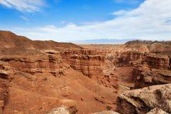 Vallei van Kastelen in Sharyn Canyon Royalty-vrije Stock Fotografie