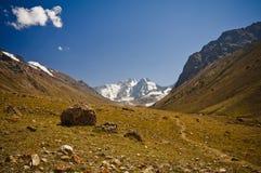 Vallei van Pamir royalty-vrije stock afbeelding