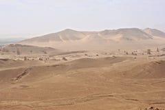 Vallei van Torens van Graven Ruïnes van de oude stad van Palmyra stock foto