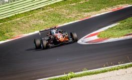 Vallelunga, Ιταλία στις 24 Σεπτεμβρίου 2017 Ενιαίο αυτοκίνητο ι τύπου seater Στοκ Εικόνες