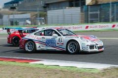 Vallelunga, Ρώμη, Ιταλία 10 Σεπτεμβρίου 2016 $cu της Porsche Carrera Στοκ εικόνες με δικαίωμα ελεύθερης χρήσης
