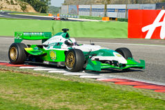 VALLELUNGA CIRCUIT, ROME, ITALY - NOVEMBER 2 2008. Superleague F Royalty Free Stock Images