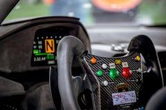 Vallelunga, Itália 24 de setembro de 2017 Único ra do motorsport do seater Imagens de Stock Royalty Free