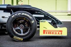 Vallelunga, Italia 24 de septiembre de 2017 Solo coche de fórmula del seater n Imagen de archivo libre de regalías