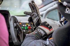 Vallelunga, Italie le 24 septembre 2017 Ra simple de sport mécanique de seater Photographie stock libre de droits