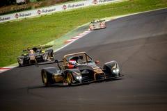 Vallelunga, Italie le 24 septembre 2017 Voiture de course de prototype pendant Photo stock