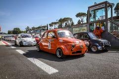 Vallelunga, Rom, Italien 24. Juni 2017 Italiener Bicilindriche-Schale Stockfotografie