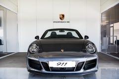 Vallelunga, Rom, Italien 24. Juni 2017 Schwarzes Metall Porsche 911 c Stockfoto