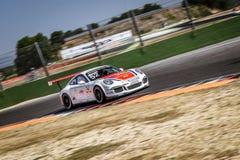 Vallelunga, Roma, Itália 24 de junho de 2017 Italiano Porsche Carrera C Fotografia de Stock