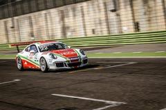 Vallelunga, Roma, Italia 24 de junio de 2017 Italiano Porsche Carrera C Fotografía de archivo libre de regalías