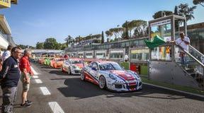 Vallelunga, Roma, Italia 24 de junio de 2017 Italiano Porsche Carrera C Imagen de archivo libre de regalías
