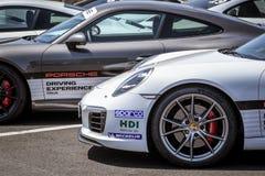 Vallelunga, Roma, Italia 24 de junio de 2017 Vehi de los coches de Porsche Carrera Imagenes de archivo