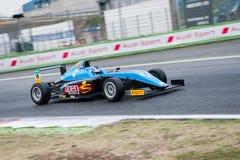 Vallelunga, Roma, Italia 10 de septiembre de 2016 Campeón de la fórmula 4 Imagenes de archivo