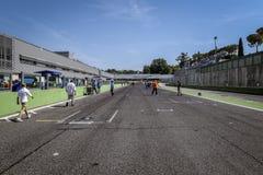 Vallelunga, Rome, Italie 24 juin 2017 Commencer droit de circuit Photographie stock