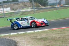 Vallelunga, Rome, Italie 10 septembre 2016 Cu de Porsche Carrera Images stock