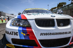 Vallelunga, Rome, Italy. June 24 2017. Italian Super Cup, Bmw M3 Royalty Free Stock Photography