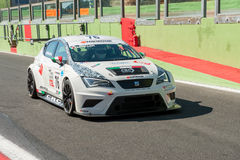 Vallelunga, Rome, Italy. September 4th 2016. Italian Touring Cha Royalty Free Stock Images