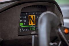 Vallelunga, Włochy Wrzesień 24 2017 Pojedyncze seater motorsport akademie królewskie Obraz Stock