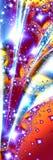 Vallend ster 1 royalty-vrije illustratie