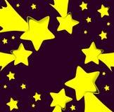 Vallende sterren vector illustratie
