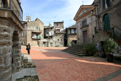 Vallerano, Italia fotografie stock