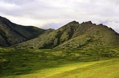 Valles antiguos Fotos de archivo