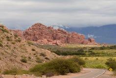 Valles Calchaquies immagini stock libere da diritti