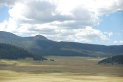Valles Caldera in New Mexico. Valles Caldera outside Los Alamos, New Mexico stock photos