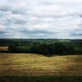 Valles de Derbyshire foto de archivo libre de regalías