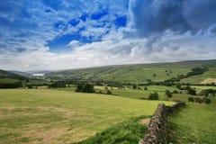 Vallées de Yorkshire Images stock