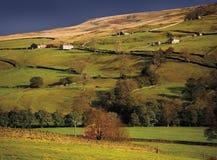Valles de Yorkshire Fotos de archivo