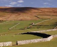 Valles de Yorkshire imagen de archivo libre de regalías