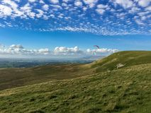Valles de Yorkshire cerca de Birkdale, North Yorkshire, Reino Unido Imagen de archivo libre de regalías