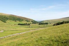 Valles de Yorshire en verano Imagen de archivo
